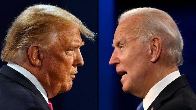 Tak hanya menyoal pendapat dan program yang ditawarkan, perbedaan Joe Biden dan Donald Trump dalam Pilpres AS juga terlihat dalam pilihan gaya busana.
