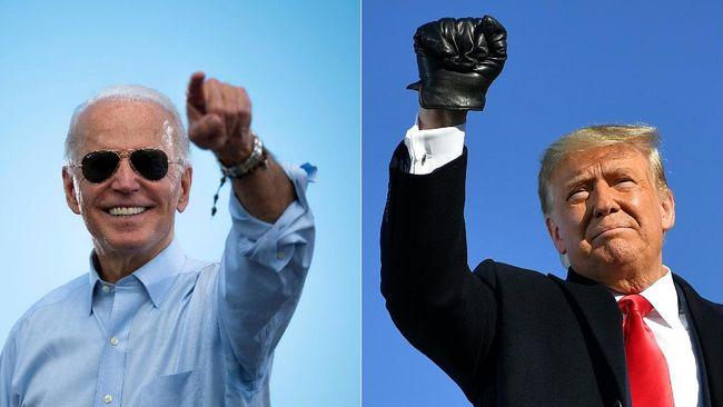 Presiden terpilih AS Joe Biden, mengatakan warga Negeri Paman Sam tidak akan mendukung upaya menggagalkan hasil pilpres.
