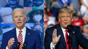 Biden Sebut Trump Harus Dimakzulkan