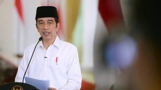 Jokowi Klaim Realisasi BLT Subsidi Gaji Pekerja 82 Persen
