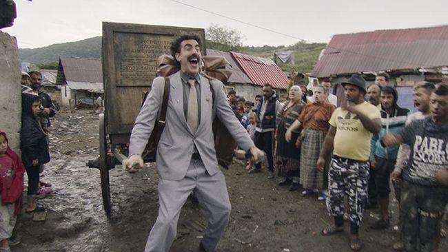 Asosiasi Kazakhstan-AS meminta ajang penghargaan film tidak memasukkan film Sacha Baron Cohen, Borat Subsequent Moviefilm, ke dalam daftar pertimbangan.
