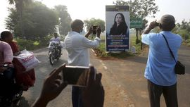 FOTO: Doa untuk Kamala Harris dari Thulasendrapuram India