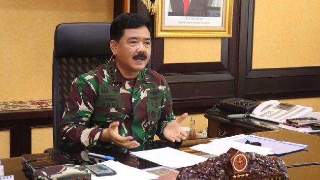 Di tengah Rapim TNI, Panglima TNI Hadi Tjahjanto menyinggung soal kekuatan medsos yang dapat menggulirkan pelbagai kerusuhan di beberapa negara di dunia.