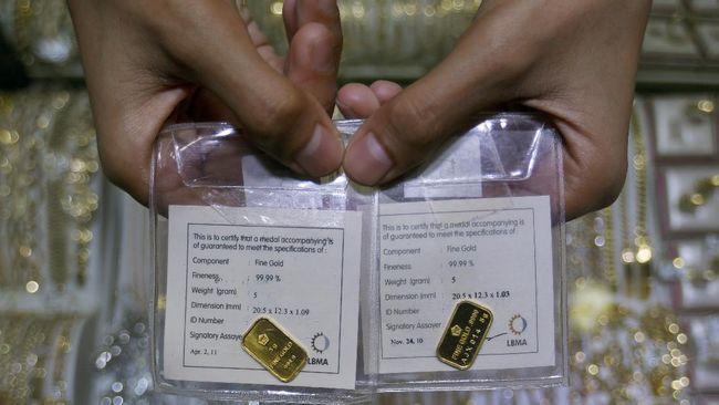 Harga Emas Antam Hari Ini 30 Desember Turun Jadi Rp965 Ribu