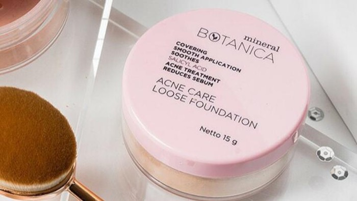Kelebihan Lain dari Mineral Botanica Acne Care Loose Foundation Selain Mengatasi Jerawat