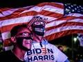 Massa Biden Bikin Aksi Tandingan soal Penghitungan Suara