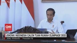 VIDEO: Jokowi: Indonesia Calon Tuan Rumah Olimpiade 2032