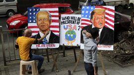FOTO: Riuh-rendah Pilpres AS di Penjuru Dunia
