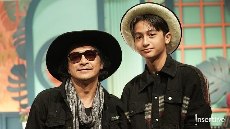 Andy /rif dan putra keduanya