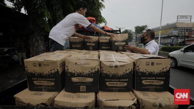 DKI Bagikan Bansos Beras ke Hampir Sejuta KK Mulai Besok