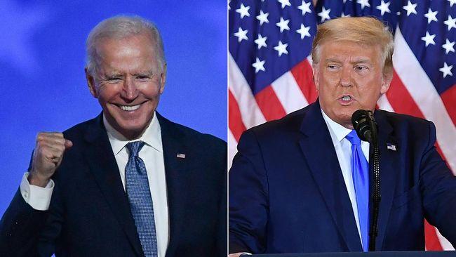 Dua hari usai waktu pencoblosan Pilpres AS 2020 dibuka, hingga hari ini belum diketahui siapa pemenangnya, Trump atau Joe Biden.