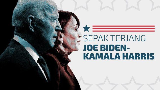 INFOGRAFIS: Sepak Terjang Joe Biden-Kamala Harris