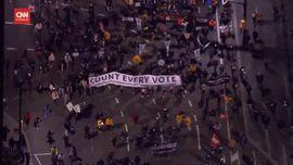 VIDEO:  Gelombang Protes Warnai Jalannya Pilpres AS