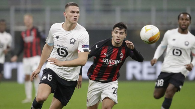 Jadwal Siaran Langsung Lille vs AC Milan di Liga Europa