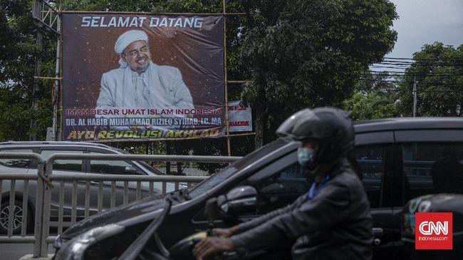 Polri menyebut pencopotan baliho Rizieq sudah menjadi ranah Kodam Jaya. Polisi belum terlibat dalam kegiatan pencopotan baliho Rizieq.