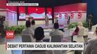 VIDEO: Debat Pertama Cagub Kalimantan Selatan