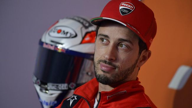 Andrea Dovizioso menjadi pembalap cadangan Marc Marquez di Honda pada MotoGP 2021.