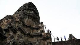 Kisah Tukang Kebun 'Ninja' di Angkor Wat