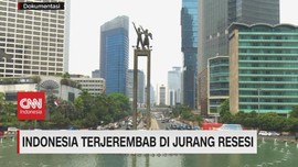 VIDEO: Indonesia Terjerembab di Jurang Resesi