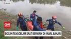 VIDEO: Bocah tenggelam Saat Bermain di Kanal Banjir Timur