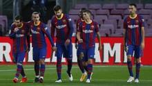 Messi Absen, Barcelona Mencemaskan Lawan Kiev
