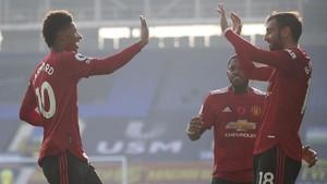 Bruno Fernandes Ancam Rashford Usai MU Kalahkan West Ham