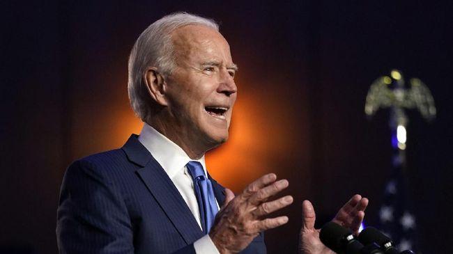 Presiden terpilih AS, Joe Biden, menyatakan tidak takut dilantik di luar ruangan meski ada ancaman kerusuhan.