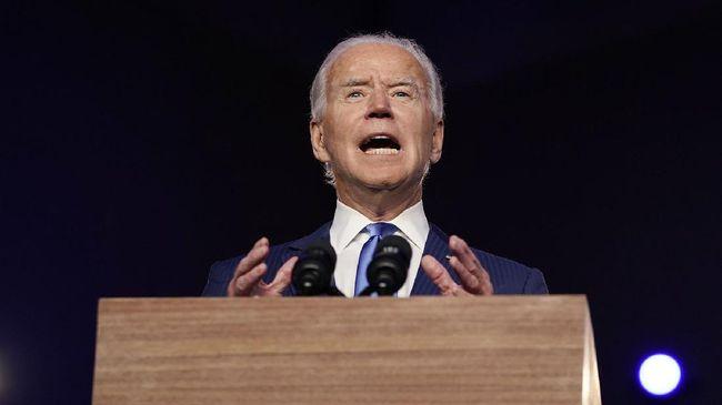 Presiden AS, Joe Biden, berjanji bakal menghukum pihak-pihak yang diduga melanggar HAM terkait kasus pembunuhan jurnalis Jamal Khashoggi.