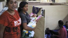 FOTO : Wajah Pengungsi Lereng Gunung Merapi