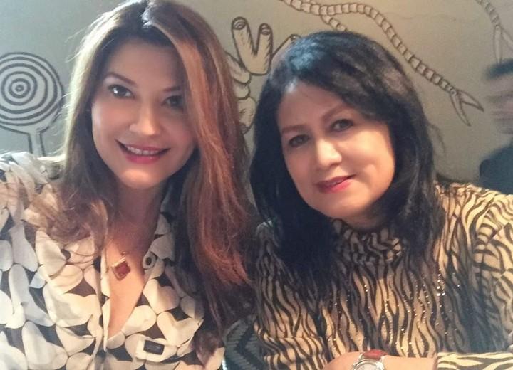 Tamara Bleszynski dan Ibunya
