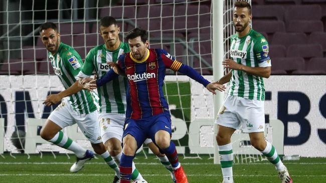 Lionel Messi tidak masuk skuad Barcelona untuk laga lanjutan Grup G Liga Champions melawan Dynamo Kiev pada Selasa (25/11).