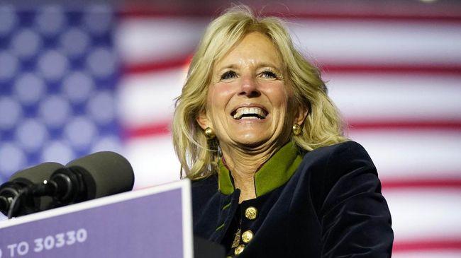 Ibu Negara AS, Jill Biden memimpin delegasi Negeri Paman Sam ke Olimpiade Tokyo 2020 di Jepang, di tengah kekhawatiran pandemi Covid-19.
