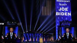 FOTO: Kemeriahan Pidato Kemenangan Joe Biden