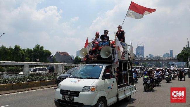 Kelompok buruh menegaskan bakal secara maraton turun ke jalan, dan aksi besar-besaran di Istana Negara hingga UU Ciptaker dicabut.