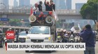 VIDEO: Massa Buruh Kembali Demo Menolak UU Cipta Kerja