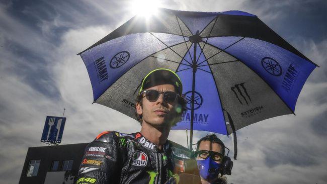 Gagal Finis di MotoGP Eropa, Rossi Tertawa