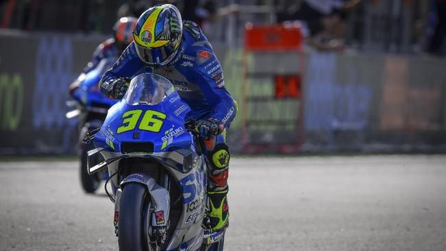 Juara Dunia, Joan Mir Buka Peluang Pakai No. 1 di MotoGP 2021