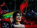 Suu Kyi Ditahan, Militer Myanmar Kepung Balai Kota Yangon