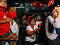 Suu Kyi Ditahan, Siaran TV-Telepon di Myanmar Terganggu