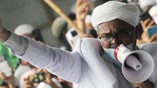 Rizieq Shihab Tersangka, Netizen Singgung Kerumunan Lain