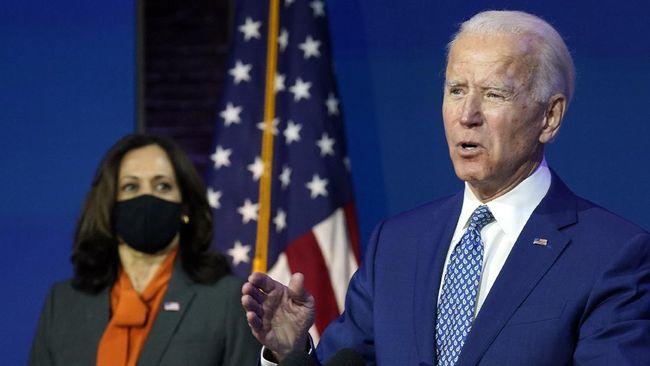 Presiden terpilih AS Joe Biden menuduh Donald Trump telah merusak demokrasi karena terus menolak kekalahan dan mengklaim ada kecurangan pemilu.