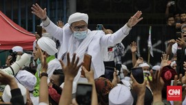 Sidang Kerumunan Rizieq Dilanjutkan Kamis, 5 Saksi Dihadirkan