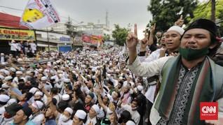 Polisi Proyeksi 5 Ribu Orang Hadiri Maulid Nabi di Petamburan