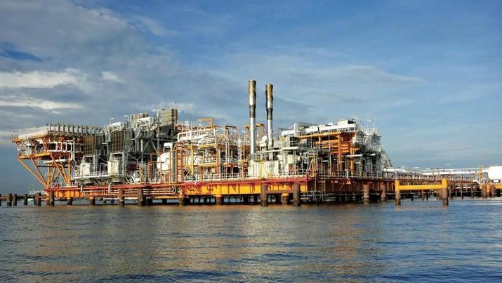 Foto: Produksi gas WK Mahakam (Dok. Pertamina Hulu Mahakam (PHM))