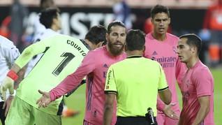 Momen Pemain Madrid Jadi Patung Tersihir Valencia