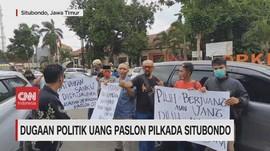 VIDEO: Dugaan Politik Uang Paslon Pilkada Situbondo