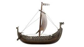 Arkeolog Temukan Kapal Viking Kuno Tanpa Gali Tanah
