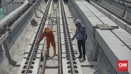 Menhub Uji Coba LRT Jabodebek, Progres 79 Persen