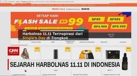 VIDEO: Sejarah Harbolnas 11.11 di Indonesia