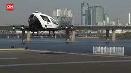 VIDEO: Melihat Uji Coba Taksi Drone Tanpa Awak di Seoul